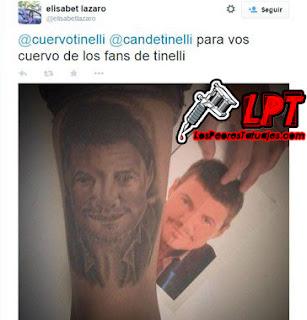 Tatuaje de Marcelo Tinelli