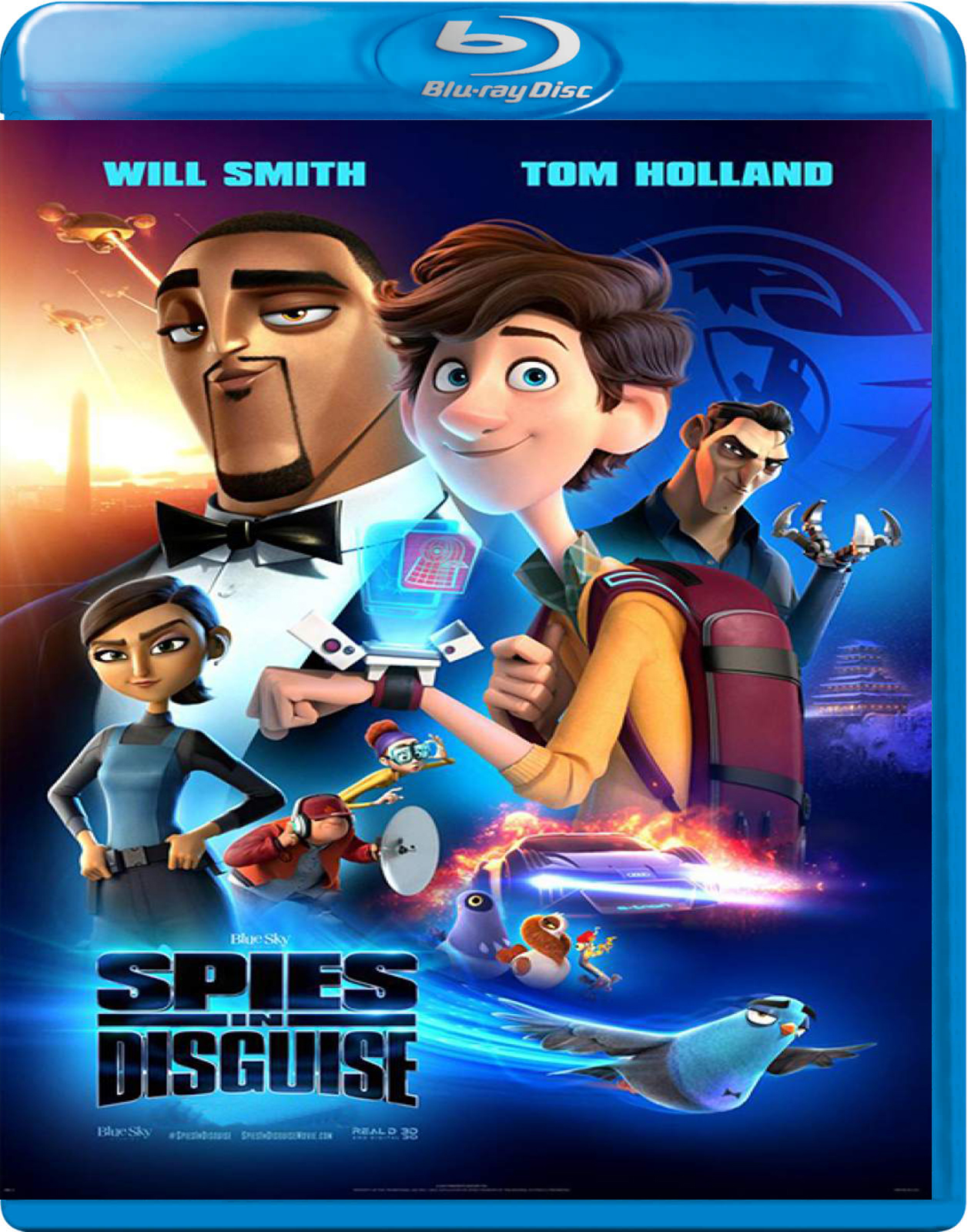 Spies in Disguise [2019] [BD50] [Latino]