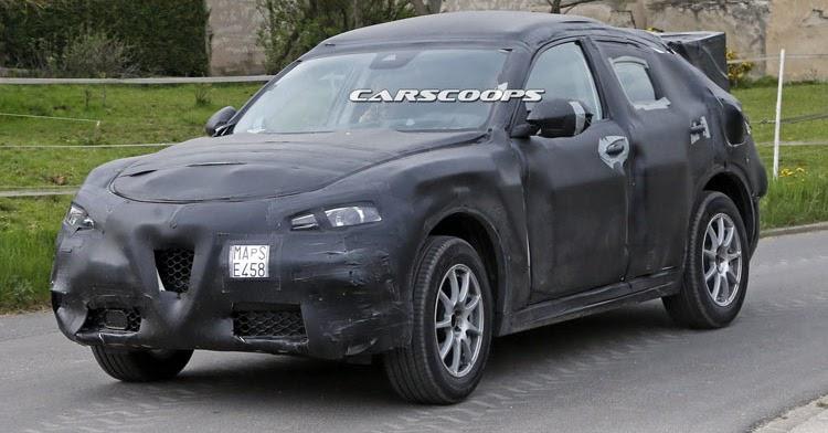 Alfa Romeo Stelvio SUV Is FCA's Italian Flavored Answer To ...
