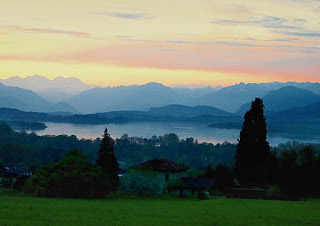 The picturesque Lake Varese is just outside the city of  Varese in Lombardy, south of the main Italian lakes