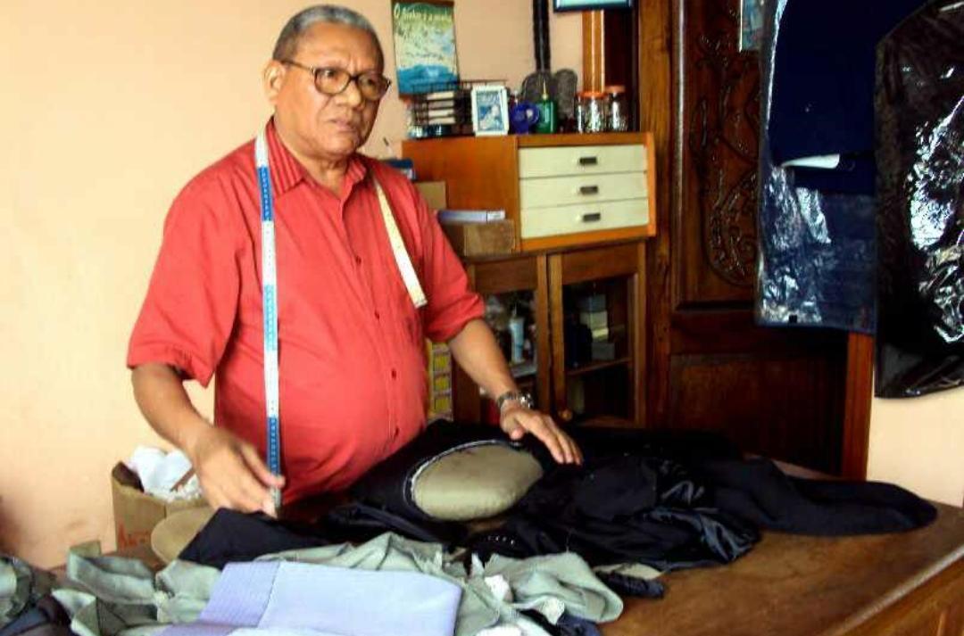 Notório alfaiate, Balduíno Oliveira morre aos 78 anos de parada cardíaca