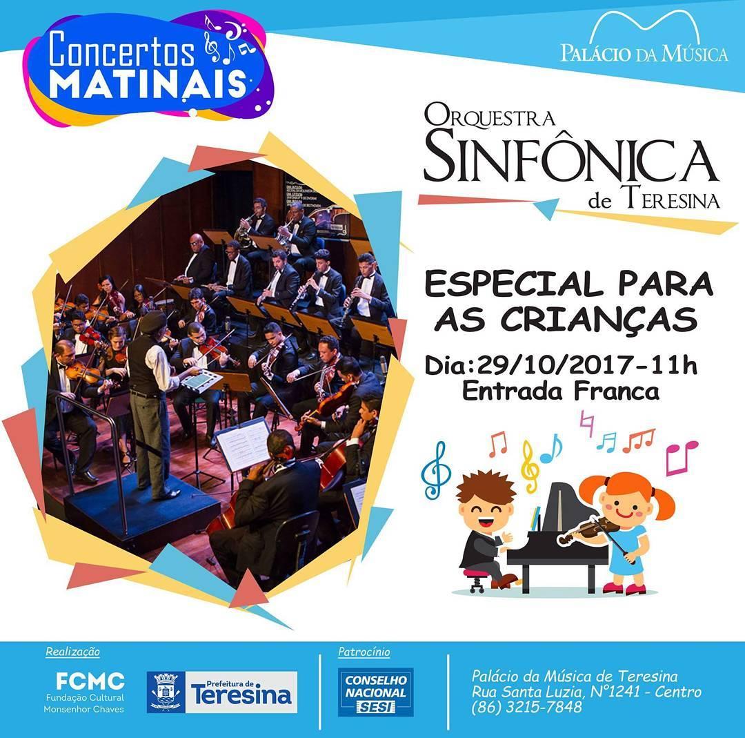 80e59a13233be Agenda Cultural de Teresina  Concertos Matinais - Palácio da Música ...