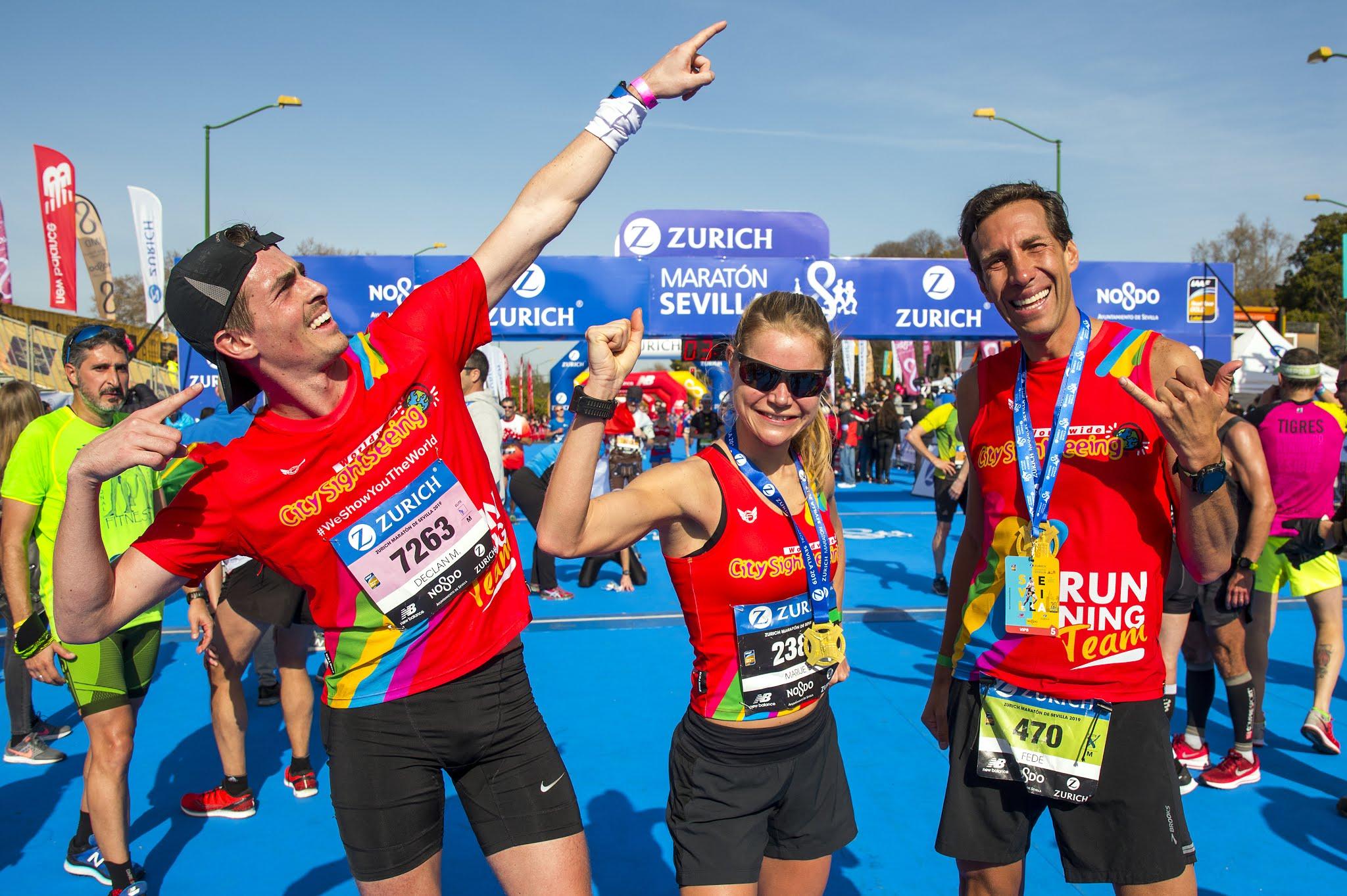 ganadores city sightseeing marathon challenge sevilla 2019