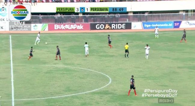 Persipura Jayapura vs Persebaya Surabaya 3-1 Liga 1 Selasa 30 Oktober 2018