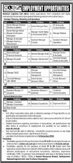 national-logistics-cell-nlc-jobs-2020-advertisement-apply-online