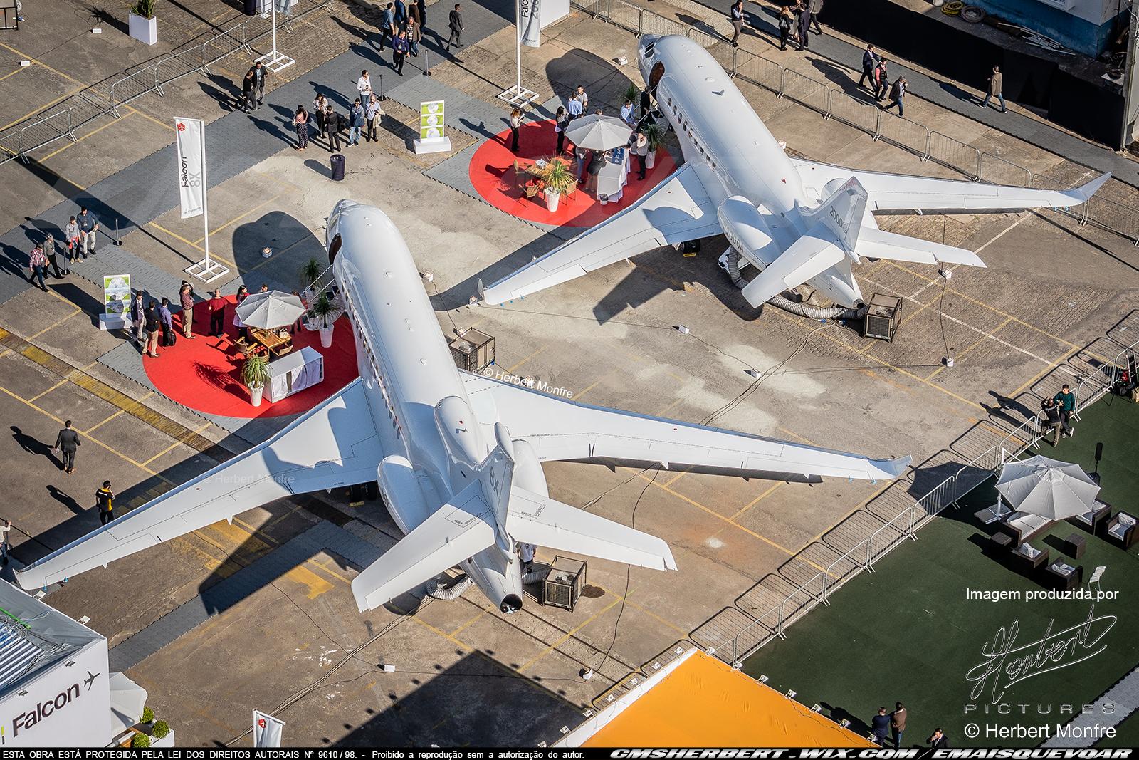 Falcon 8X | N8X | Foto © Herbert Monfre - Contrate o fotógrafo em cmsherbert@hotmail.com | by É MAIS QUE VOAR | LABACE 2019