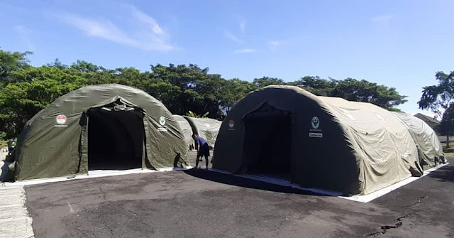 Yonkes 2 Kostrad Siagakan Tenda Isolasi COVID–19