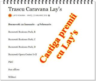 pareri concurs caravana lay's 2019 indicii traseu