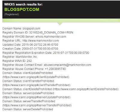 Domain Name Se Blogger Ka Pata Lagahiye 1 Click Me