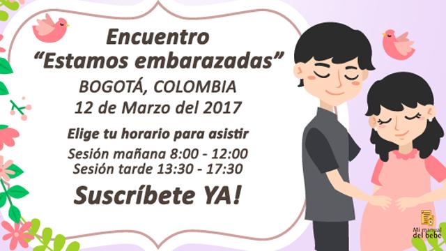 ¡Atención mamás gestantes! Encuentro en Bogotá