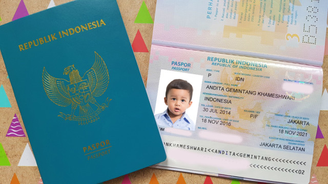 Alur Serta Pengambilan Antrian Paspor Untuk Anak