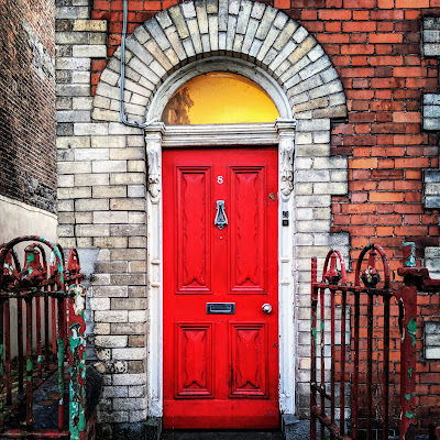 What is Limerick Like? Colorful Georgian doors