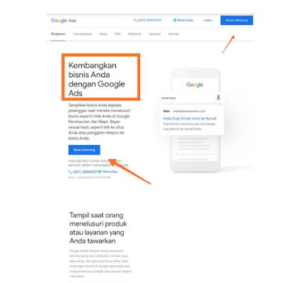 Cara membuat akun google AdWords dengan mudah
