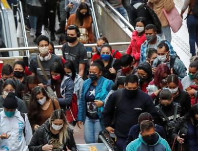 Um em cada dez em São Paulo já foi infectado