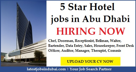 5 Star Hotel jobs in Abu Dhabi
