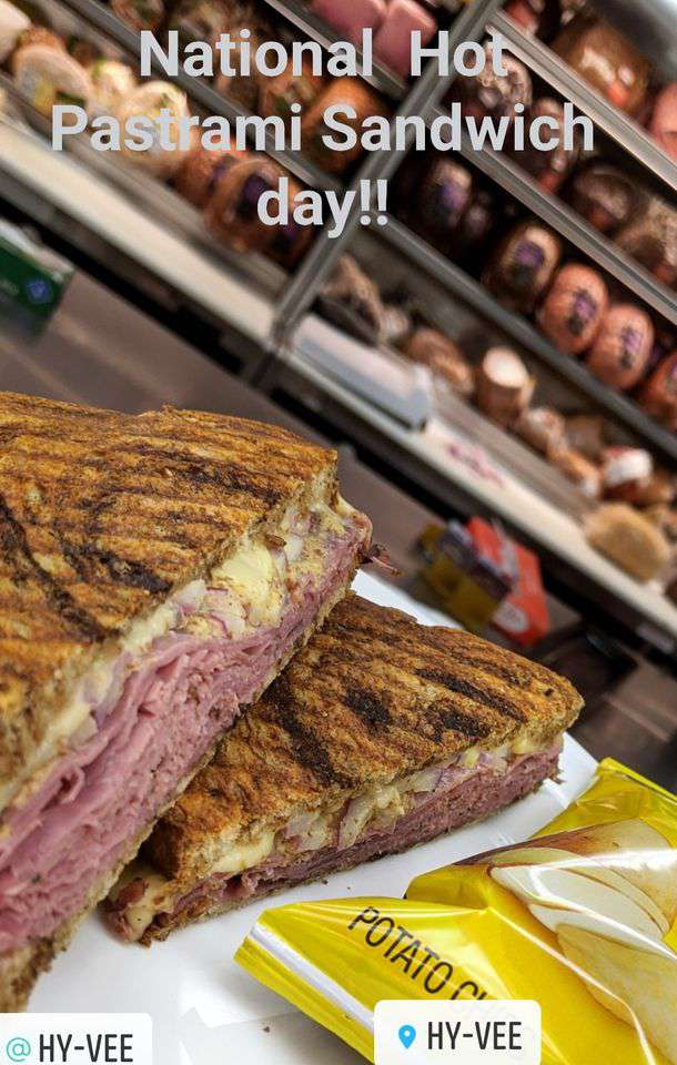 National Hot Pastrami Sandwich Day Wishes Awesome Picture