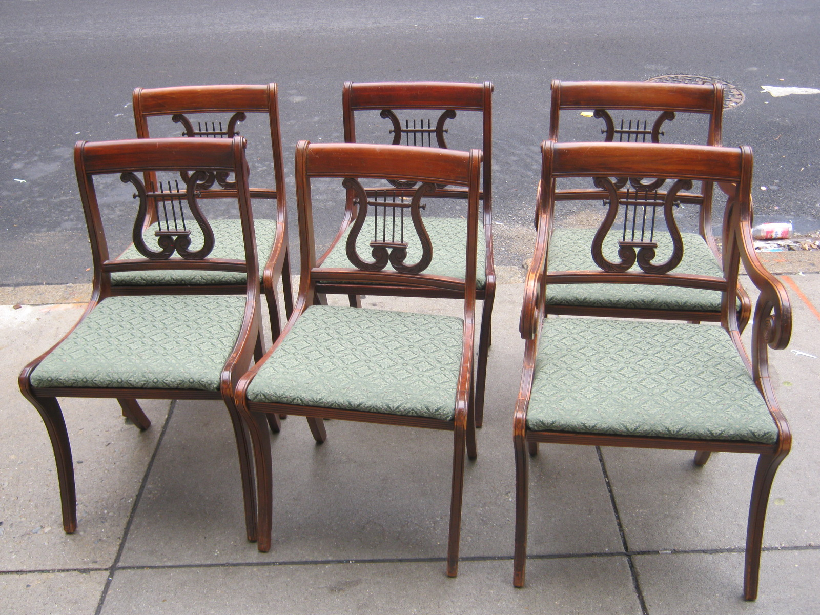 Duncan Phyfe Chairs Wal Mart Uhuru Furniture And Collectibles Dining Room