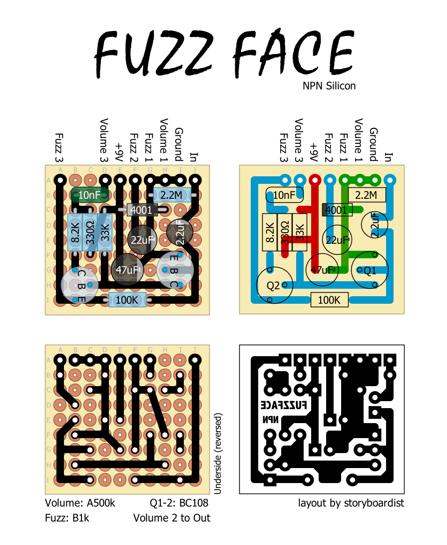 fuzz pedal schematic  | effectslayouts.blogsp…