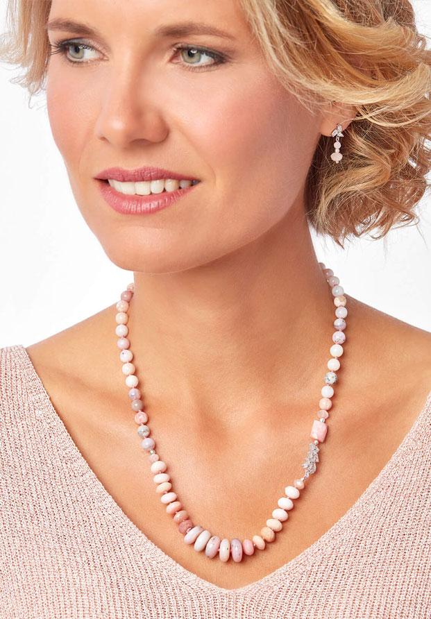Perseida, la nueva colección de Marybola con ópalo australiano y morganita rosa
