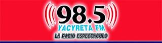 Radio Yacyreta 98.5 FM en vivo