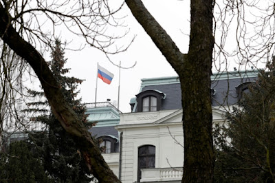 the EU representatives also recalled Russia's expulsion of Czech diplomats