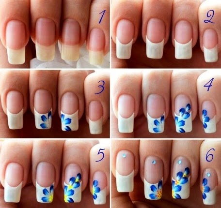 33 Cool Nail Art Ideas & Awesome DIY Nail Designs - DIY ...   Easy Nail Art For Teenagers Step By Step