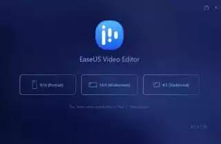 تعرف على برنامج EaseUS vedio Editor أسهل محرر فيديو(مونتاج) للمبتدئين