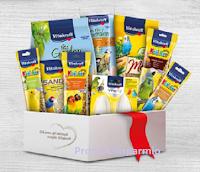 Logo Vitakraft '' Cinguettando'' : vinci gratis pacchi di prodotti ( valore 25 euro)