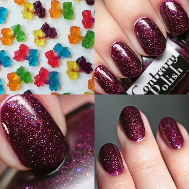 Contrary Polish Gummy Bears in Love