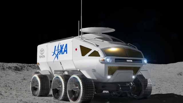 Mobil Penjelajah Bulan begini bentuk nya