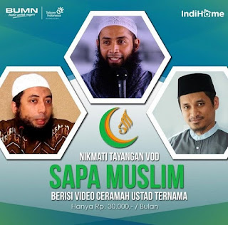 Indihome Jual Ceramah Ustadz Wahabi, Tagar #TelkomProIntoleran Trending Topic