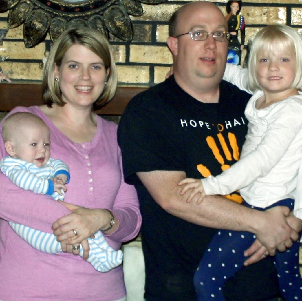 Gwartney Family, Brad, June, Lydia, Will