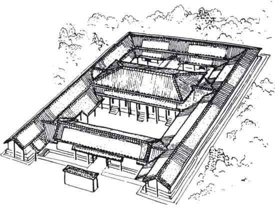 中国古典的建築の象徴である四合院,Siheyuan is a symbol of Chinese classical architecture,四合院是中国古代建筑的象征