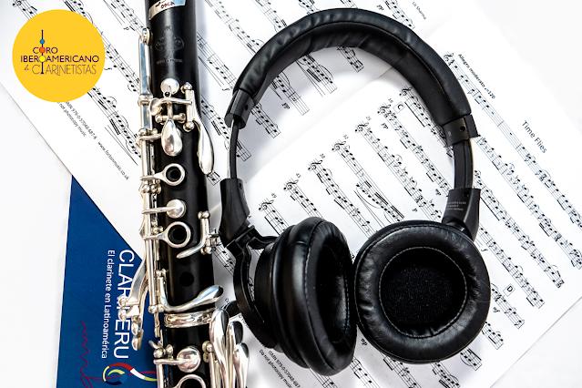 Como grabar tu parte de clarinete en el Coro Iberoamericano de Clarinetistas. CLARIPERu