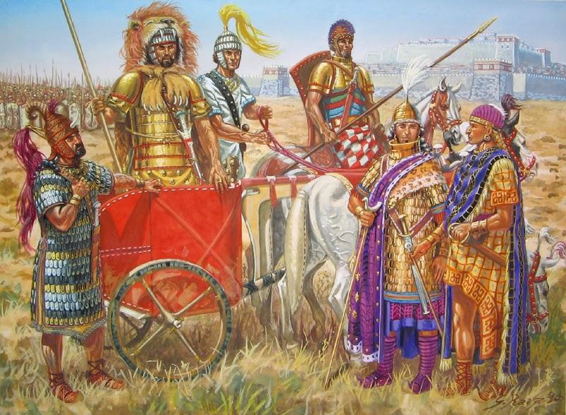 relationship between helots and mycenaeans