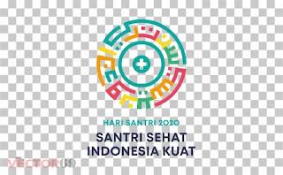 Hari Santri Nasional 2020 Logo - Download Vector File PNG (Portable Network Graphics)