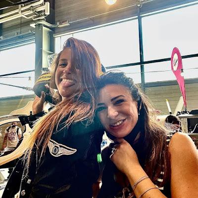 Motor Bike Expo 2021 - WMB Domitilla e Bianca