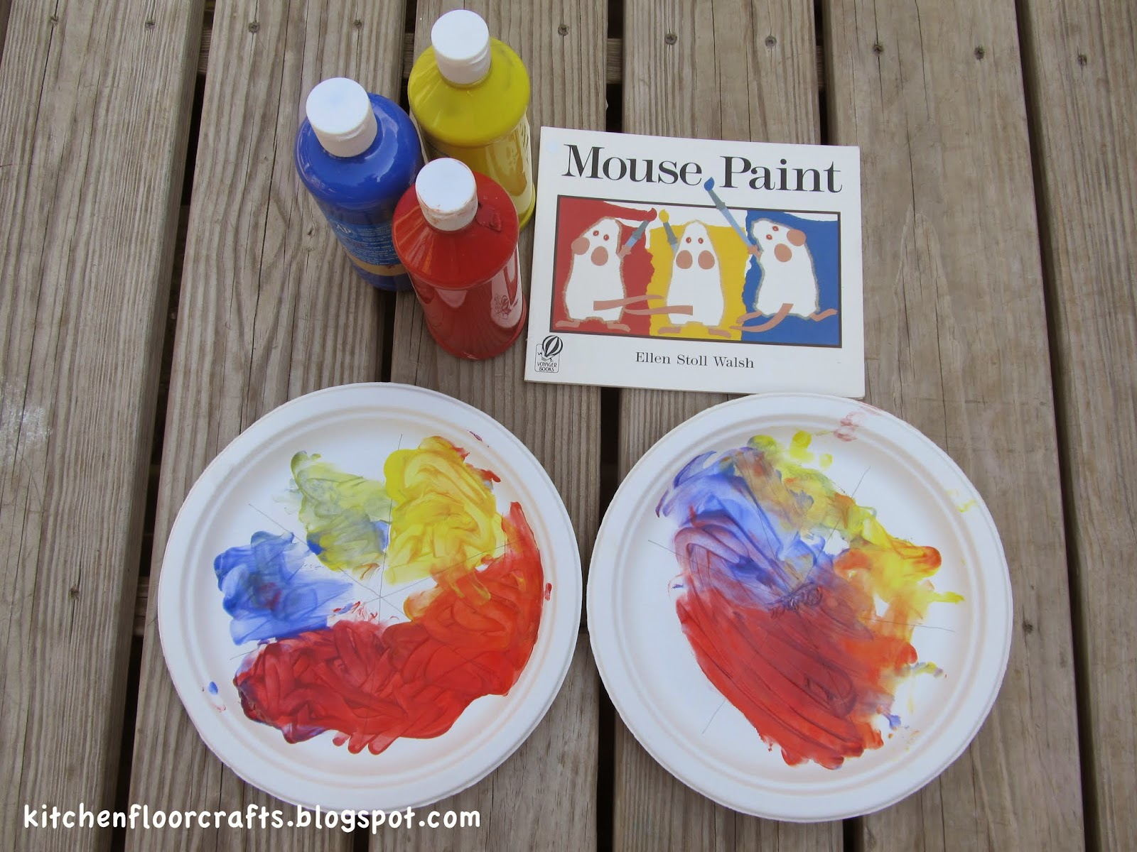 Kitchen Floor Crafts Mouse Paint Color Wheel