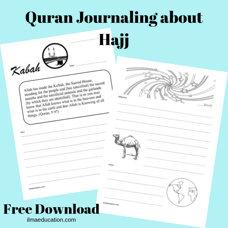 ILMA Education: Quran Journaling about Hajj Free Download