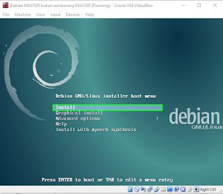 instal debian 8