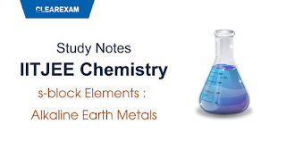 s-block Elements – Alkaline Earth Metals