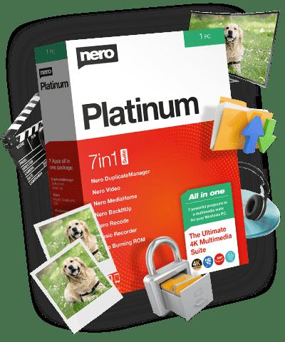 Nero Platinum 2020 Suite v22.0.02300 Full version