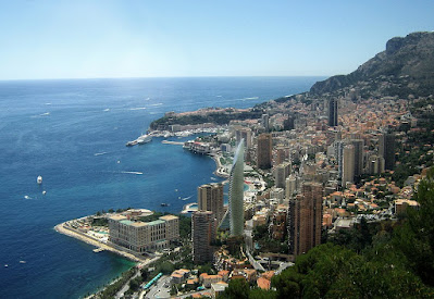 Perspective 3d Monaco vue aérienne concours