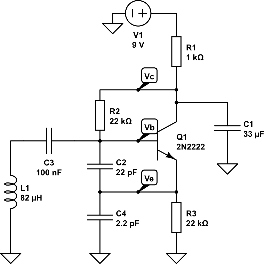 electronics evolution metal detector using colpitt oscillators