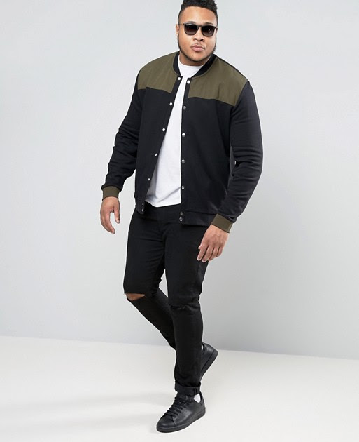Asos Launches Plus Size Men Collection! We are Excited.... #BellaCurvesFashionGuy
