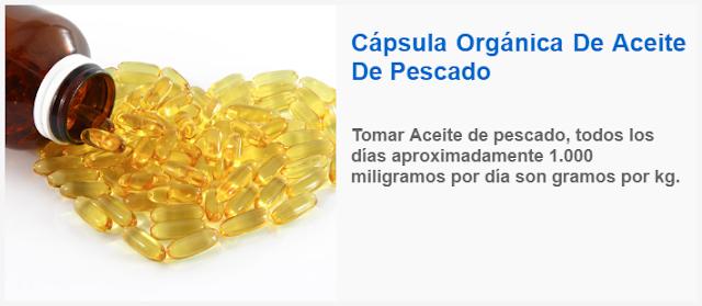 Cápsula Orgánica De Aceite De Pescado remedios caseros para el colon irritable