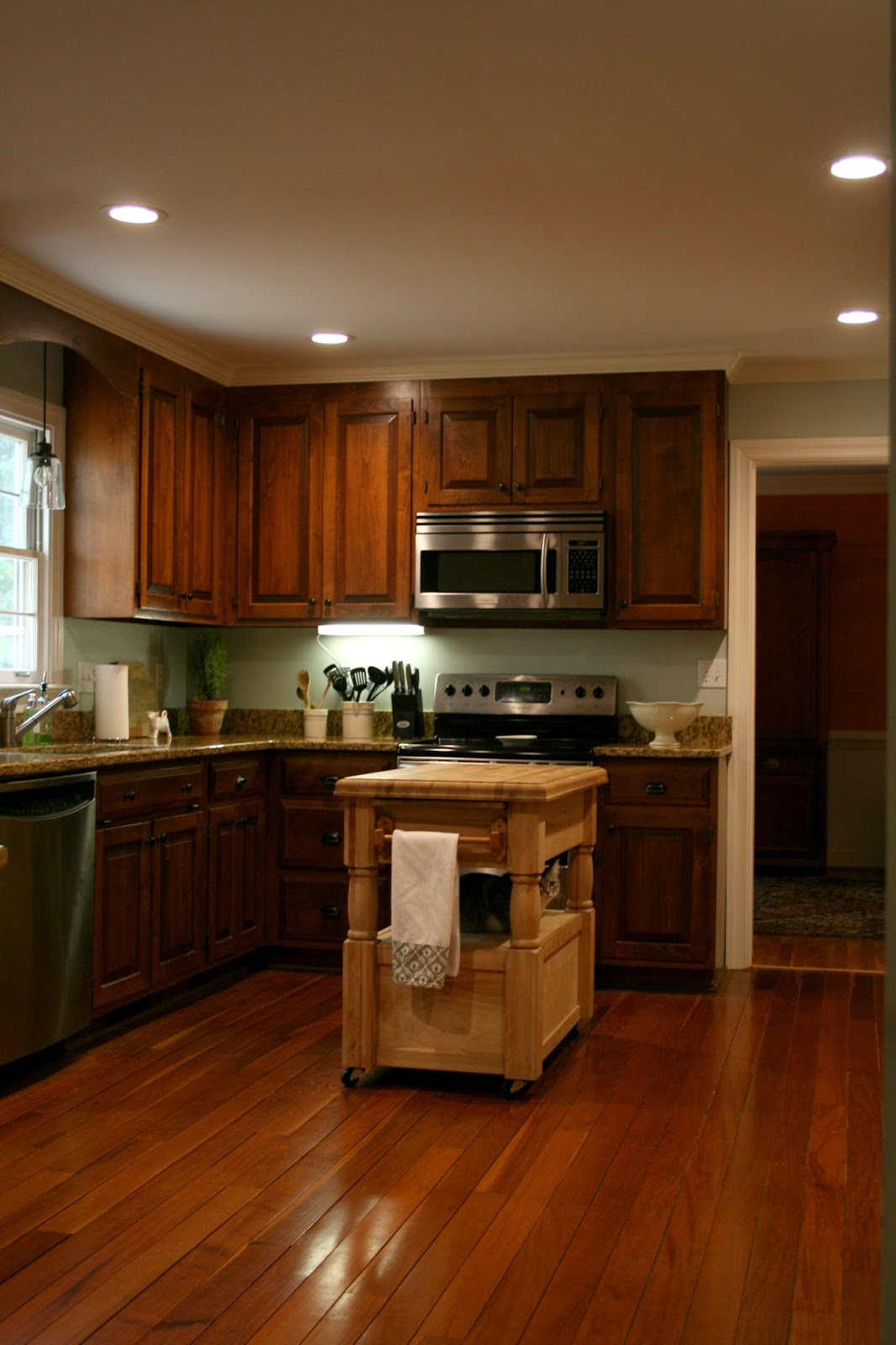 Richmond real estate mom updating a kitchen without - Updating kitchen cabinets with paint ...