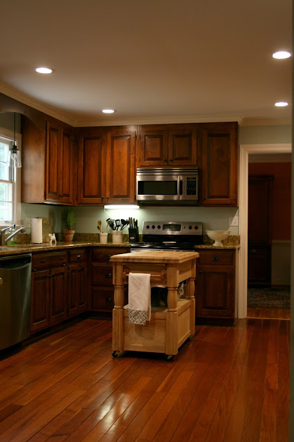 Without Painting Cabinets: Richmond Real Estate Mom: Updating A Kitchen Without