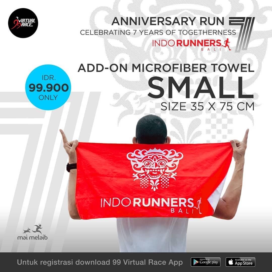Towel - IndoRunners Bali 7th Anniversary • 2019