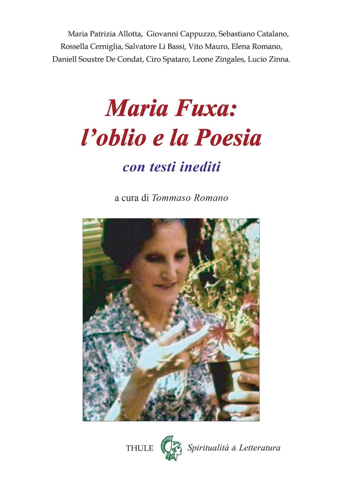 Pubblichiamo l'intervento di Vito Mauro alla presentazione dei volumi dedicati a Maria Fuxa